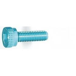 M3x10mm Zylinderkopfschraube Licht blau (4)