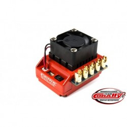 Team Corally - Cerix S10 XR 2-3S Esc For Sensored And Sensorless Motors, Turbo Timing Mode, Bec, 120A