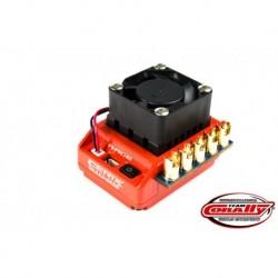 Team Corally - Cerix S10 SR 2-3S Esc For Sensored And Sensorless Motors, Turbo Timing Mode, Bec, 90A
