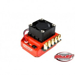 Team Corally - Cerix S10 GT 2-3S Esc For Sensored And Sensorless Motors, Turbo Timing Mode, Bec, 60A