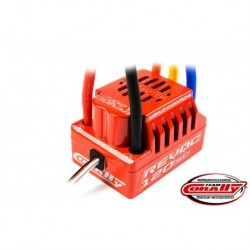 Team Corally - Revoc 120 SC 2-4S Esc For Sensorless Motors, Waterproof, Bec, 120A
