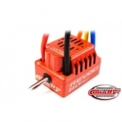 Team Corally - Revoc 80 SC 2-4S Esc For Sensorless Motors, Waterproof, Bec, 80A