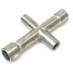 Stecknußschlüssel 4, 5, 5.5 u. 7mm