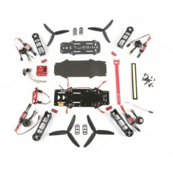 RaceCopter FPV 250 Combo Kit mit Motor, Regler, CC3D und LED
