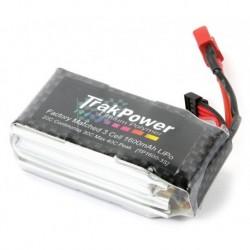 LiPo Trakpower 1600mAh 20C 3 Zellen Pack für 1/18