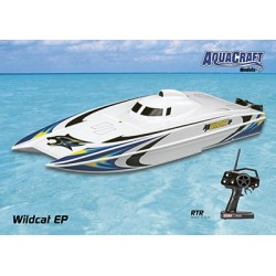 Aquacraft - Wildcat EP Brushless Offshore Catamaran 2.4GHz