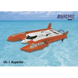 Aquacraft - UL-1 Superior Comp FE Hydroplane RTR 2.4GHz Orange