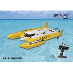 Aquacraft - UL-1 Superior Comp FE Hydroplane RTR 2.4GHz Yellow