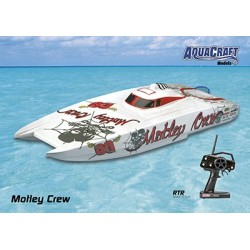Aquacraft - Motley Crew Brushless FE Catamaran 2.4GHz