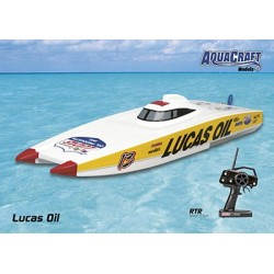 Aquacraft - Lucas Oil 4S Catamaran 2.4GHz