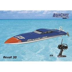 Aquacraft - Revolt 30 FE Mono 2.4GHz Blue/White