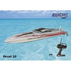 Aquacraft - Revolt 30 FE Mono 2.4GHz Silver/White