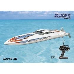 Aquacraft - Revolt 30 FE Mono 2.4GHz White
