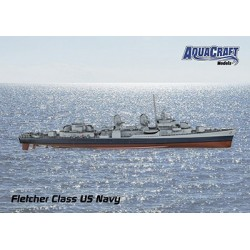 Aquacraft - 1/72 US Fletcher Class Destroyer ARR