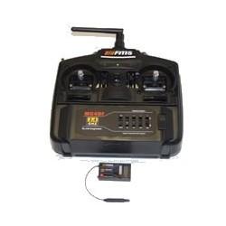 FMS 2.4G RADIO SET 4CH TX/RXunboxed (N4)