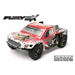 Arrma - 2WD Fury BLX Red RTR