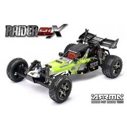 Arrma - 2WD Raider Buggy BLX Green RTR