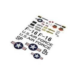 FMS F16 FIGHTING FALCON DECALS(GREY)