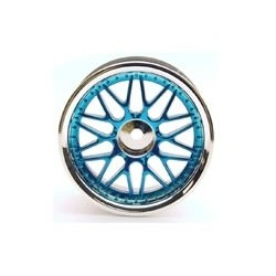 10-SPOKE MESH CHROME/BLUE