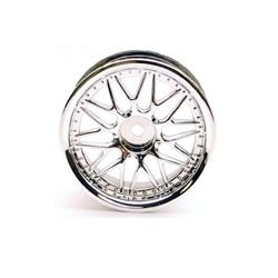 10-SPOKE CHROME MESH WHEELS