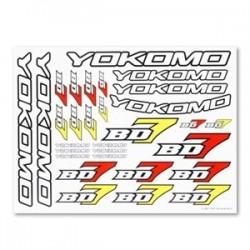 YOKOMO BD7 DECAL