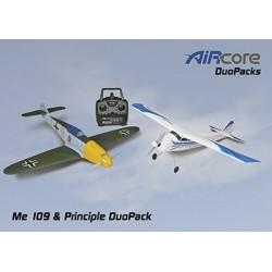 AirCore - Me109 + Principle Trainer RTF Set