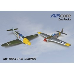 AirCore - Me 109 + P-51 Mustang Tx-R Prime Set