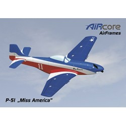 AirCore - Miss America P-51 Airframe