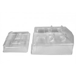 Axial - Terra Buggy Interior Set .040 Clear EXO