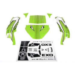 "Axial - EXO Terra Buggy Body .040"" Green"