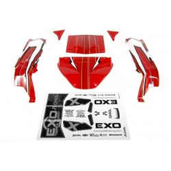 "Axial - EXO Terra Buggy Body .040"" Red"