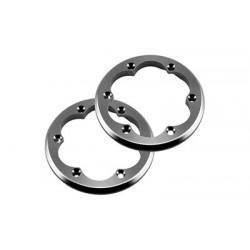 Axial - 2.2 VWS Machined Beadlock Ring Grey (2)