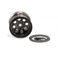 Axial - Oversize Beadlock 8-Hole Wheel 17mm Blk Chrm (2)