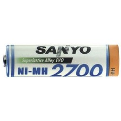 NiMH AA 2700mAh (1 Stk.) Min. 2500mAh