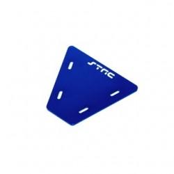 Gefräste Alu Elektronik Platte für Axial AX10 (Blau)