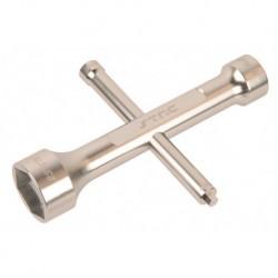 17MM/23MM 4 Fach Schlüssel (Silber)