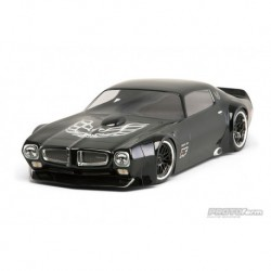 1 /10 1971 Pontiac Firebird Trans Am Clear Body