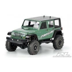 1/10 Jeep Wrangler Unlimited Rubicon clear body