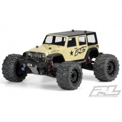 1/8 Jeep Wrangler Unlimited RubicoClear Body