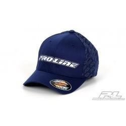 Pro-Line Swarm Navy Blue FlexFit Hat (S-M)