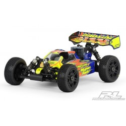 1:8 Body Bulldog for MBX-6 (clear +decals)