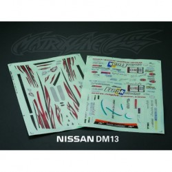 NISSAN Silvia S13 DECAL SHEET