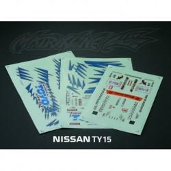 NISSAN Silvia S15 DECAL SHEETS