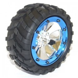 FTX MOUNTED WHEEL AND TYRE SET
