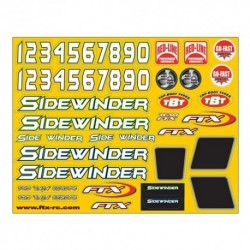 FTX SIDEWINDER BODY DECAL