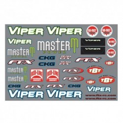 FTX VIPER BODY DECAL