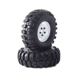 """FASTRAX 'SNAKE' CRAWLER TYREW/1.9"""" SCALE WHEEL 108mm (WH)"""