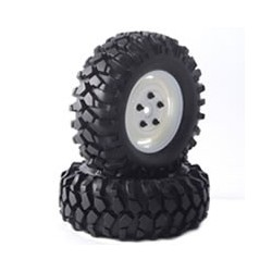 FASTRAX 'KONG' CRAWLER TYREW/1.9 SCALE WHEEL 96mm (WH)