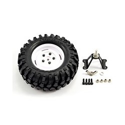 FASTRAX 'KONG' CRAWLER SPARETYRE/1.9 SCALE WHEEL 96mm (WH)