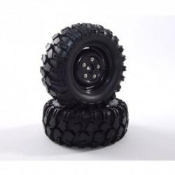 FASTRAX 'KONG' CRAWLER TYREW/1.9 SCALE WHEEL 90mm (BK)